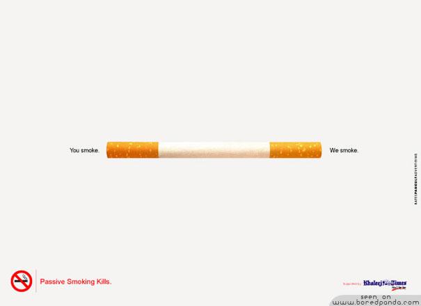 iklan kreatif anti rokok yang dapat membuat anda berhenti merokok anda merokok kita merokok 40 iklan kreatif Anti Rokok yang dapat membuat anda berhenti merokok