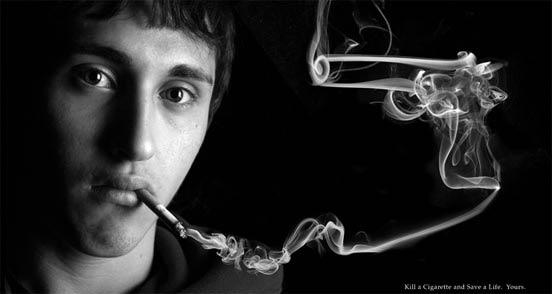 iklan kreatif anti rokok yang dapat membuat anda berhenti merokok asap pembunuh 40 iklan kreatif Anti Rokok yang dapat membuat anda berhenti merokok