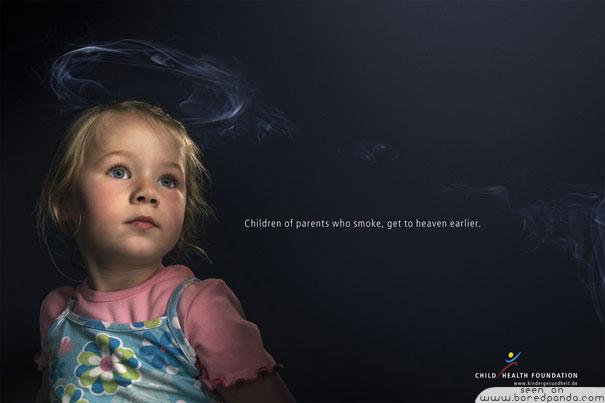 iklan kreatif anti rokok yang dapat membuat anda berhenti merokok dapatkan surga lebih awal 40 iklan kreatif Anti Rokok yang dapat membuat anda berhenti merokok