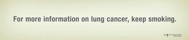 iklan kreatif anti rokok yang dapat membuat anda berhenti merokok informasi selanjutnya 40 iklan kreatif Anti Rokok yang dapat membuat anda berhenti merokok