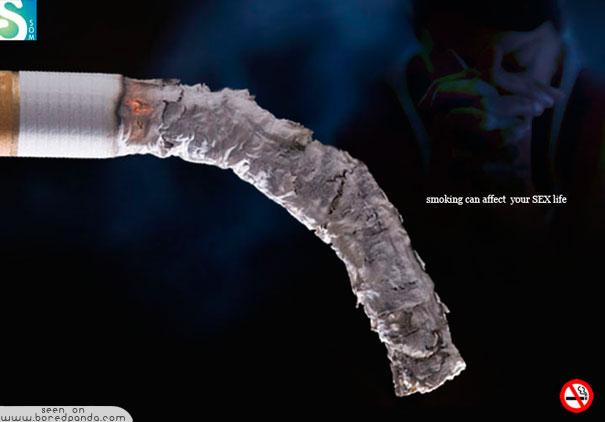 iklan kreatif anti rokok yang dapat membuat anda berhenti merokok kehidupan seksual 40 iklan kreatif Anti Rokok yang dapat membuat anda berhenti merokok