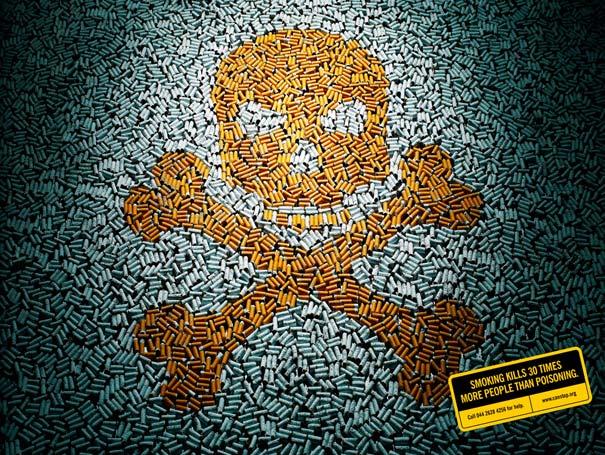iklan kreatif anti rokok yang dapat membuat anda berhenti merokok keracunan 40 iklan kreatif Anti Rokok yang dapat membuat anda berhenti merokok