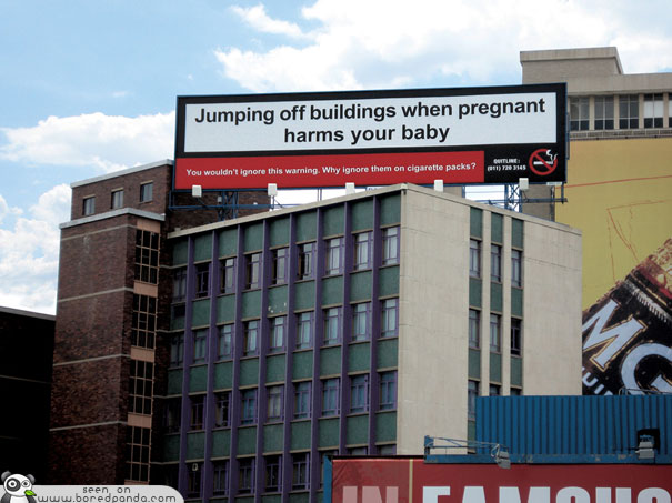 iklan kreatif anti rokok yang dapat membuat anda berhenti merokok melompat dari gedung itu merugikan 40 iklan kreatif Anti Rokok yang dapat membuat anda berhenti merokok