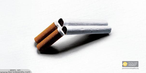iklan kreatif anti rokok yang dapat membuat anda berhenti merokok senapan berburu 40 iklan kreatif Anti Rokok yang dapat membuat anda berhenti merokok
